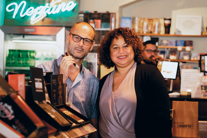 Neptune Cigars | Christophe and Luz Normand