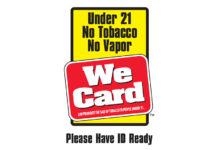 We Card Tobacco 21