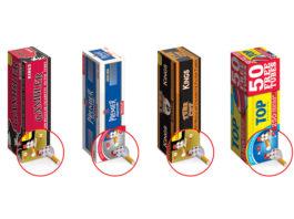 Republic Tobacco Introduces New E-Z Dispenser Cigarette Filter Tube Cartons