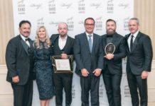 Davidoff Appointed Merchants | Left to right: Eliseo Gonzalez (Davidoff), Lana Fraser (Davidoff), Ben Christofferson (Maxamar), Beat Hauenstein (Davidoff), Andrew Considine (Maxamar) and Dylan Austin (Davidoff)