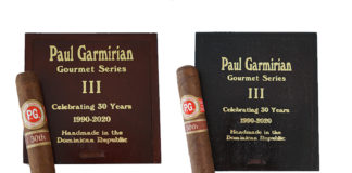 PG Cigars Celebrates 30 Years with Release of Gourmet Series III