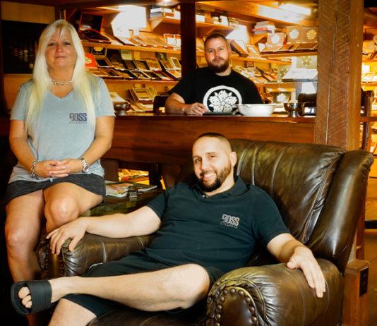 "Boss Cigars | Ann Strickland, Gabriel Hutcheson and Corinto ""Cory"" Talanca"