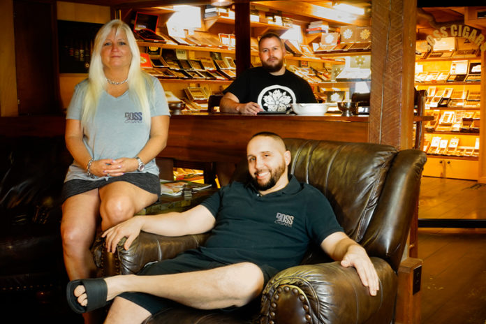 "Boss Cigars | Ann Strickland, Gabriel Hutcheson and Corinto ""Cory"" Talanca"