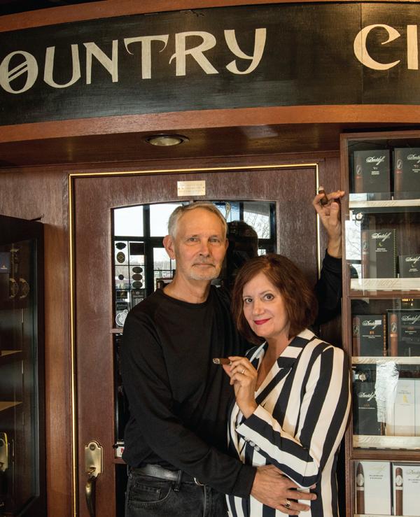 Lake County Cigars | Mary Lynn and Don Kane