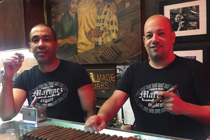 Tamboril on the Hudson: Martinez Hand-Rolled Cigars