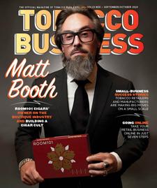 Tobacco Business September/October 2020 | Matt Booth - Room101 Cigars