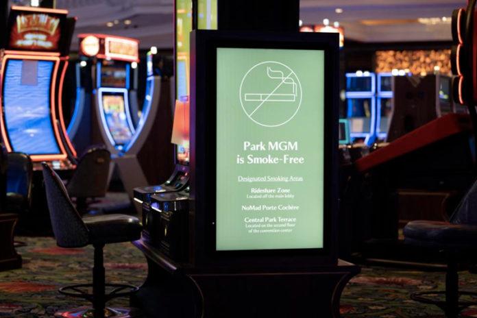 Park MGM Becomes First Smoke-Free Casino on Vegas Strip