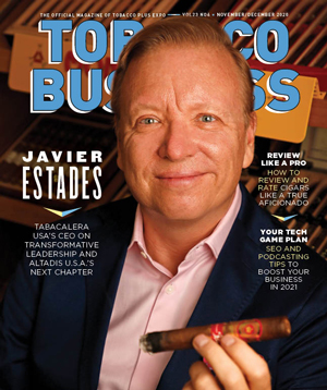 Javier Estades | Tobacco Business Magazine – November/December 2020