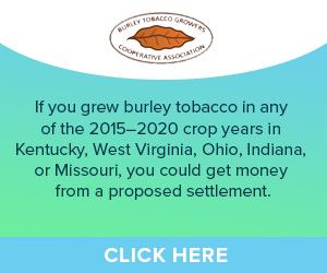 Burley Tobacco Claim