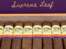 Aganorsa Supreme Leaf Expands with Box-Pressed Corona Gorda