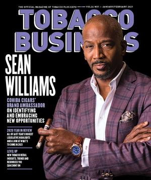 Tobacco Business Magazine | January/February 2021 | Sean Williams, Cohiba