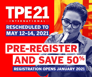 TPE 2021 RESCHEDULED