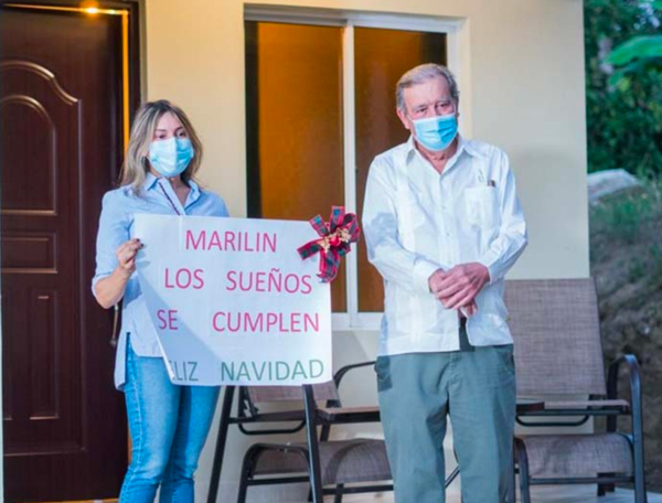 Procigar Provides Family In Need with New Home | Marilin Caba