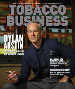 Dylan Austin, Davidoff of Americas | May/June 2021 - Tobacco Business Magazine