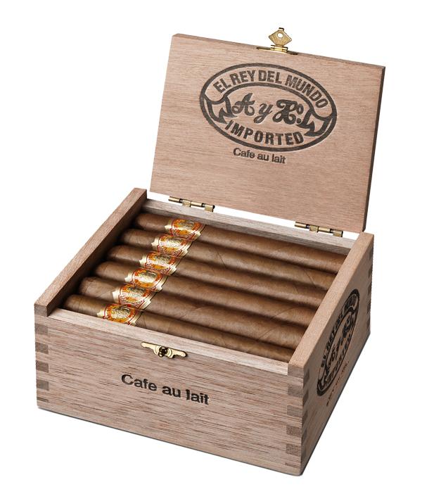 Forged Cigar Company   El Rey Del Mundo Cafe Au Lait