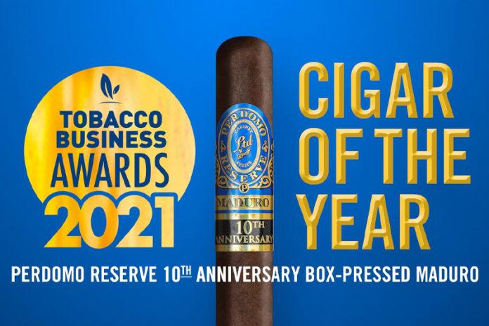 Tobacco Business Awards 2021   Top Cigar Winners