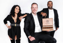 ATL Cigar Company | From left to right: Janelle Lamar, Peter Gross, and Leroy Lamar III