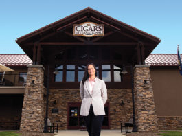 Sarah Santos, President of Cigars International | Photo by Merideth Eldow